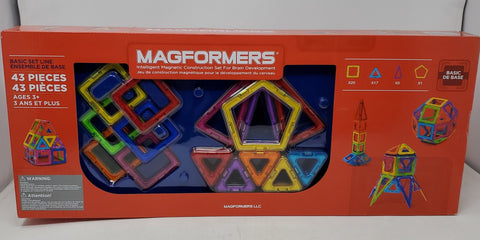 Magformers 43 piece Magnetic Set B3S1
