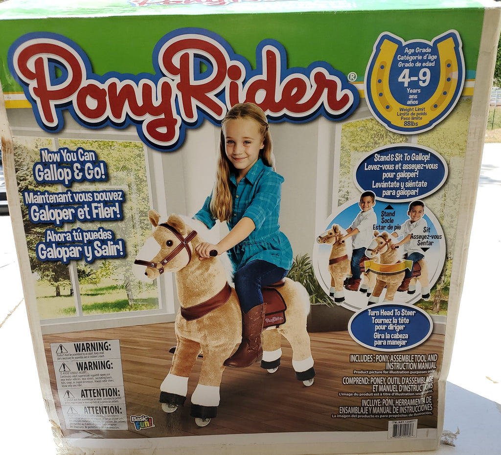 Basic Fun Pony Rider B3