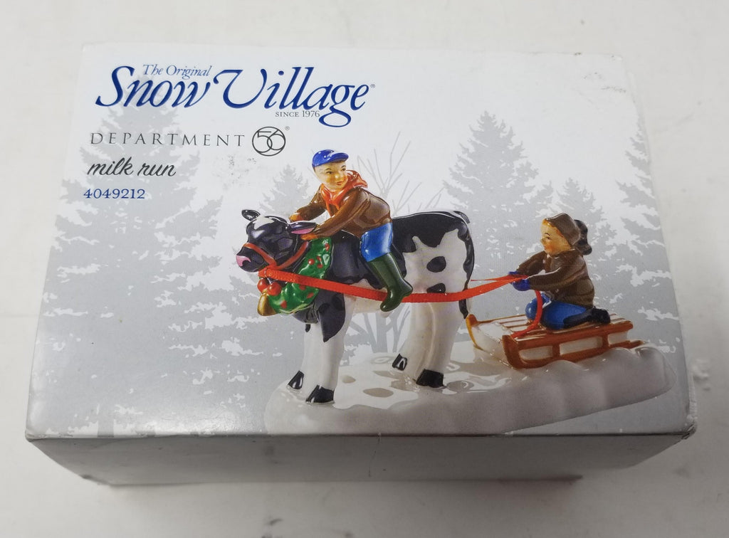 Department 56 Snow Village Milk Run Figurine 4049212 B2EC1