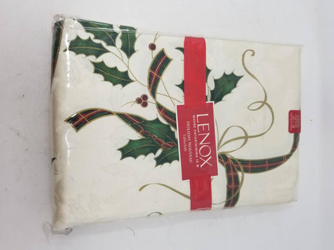Lenox Christmas Holiday Nouveau 60 x 140 Rectangle Tablecloth