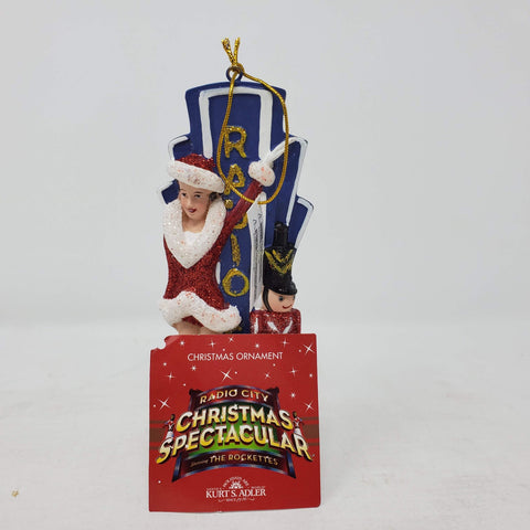 Kurt S Adler NWTS Radio City Music Hall The Rockettes Ornaments Christmas
