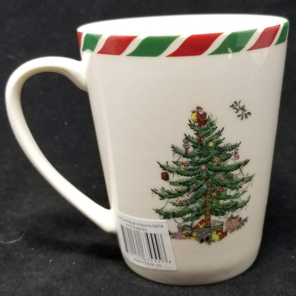 Spode Christmas Tree Holiday Mug New AP9