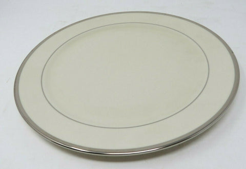 Pickard Signature Plain Bracelet Dinner Plate, Platinum Handmade in the USA AP12