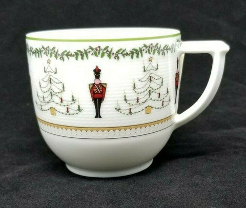LIMOGES BERNARDAUD GRENADIERS HAPPY HOLIDAY COFFEE TEA CUP AP13