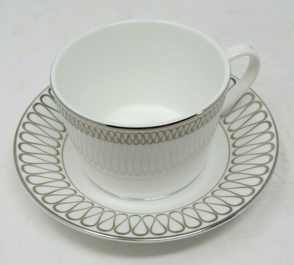 Monique Opulence Waterford Teacup & Saucer New 6 oz AP17
