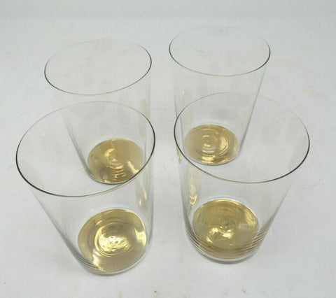 Hotel Collection Gold Tone High Ball Drinking Glasses (Set of 4) AP20