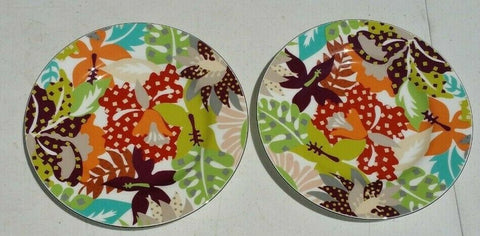 "Richard Ginori 1735 Margherita Design Dessert Plates 8"" AP1"