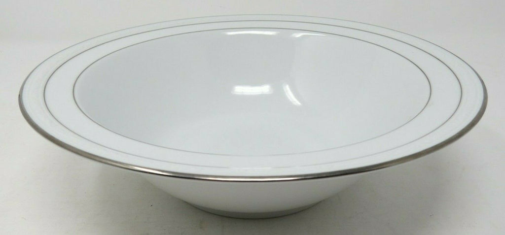 "Noritake Stoneleigh Round Vegetable or Salad Bowl 9.75"" White Porcelain AP12"