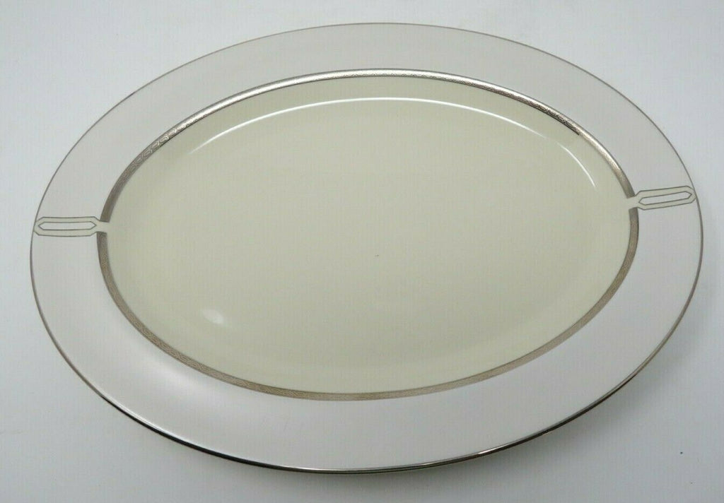 Platinum Radiance Large Platter by Pickard China Handmade in the USA AP12
