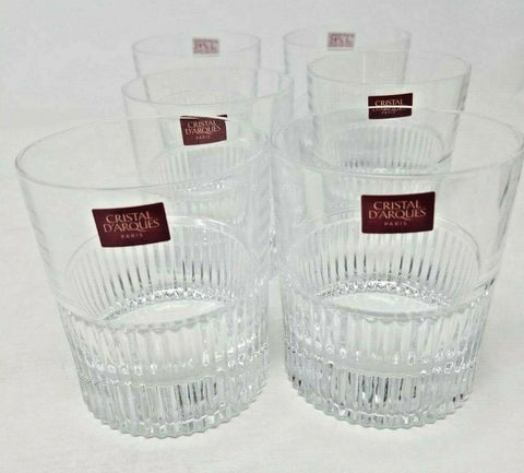 Collections Cristal D'Arques Whisky Club set of 6 10oz double old fashioned B2C3