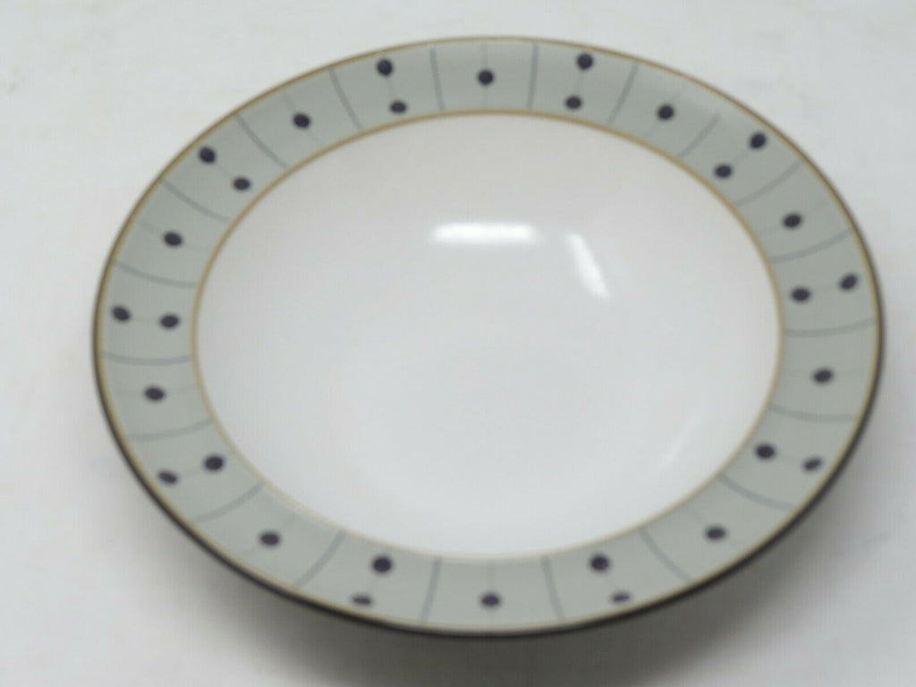 "Denby Amethyst Stone Soup Cereal Bowl 8 7/8"" Made in England AP12"