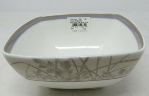 Noritake Twilight Meadow 5-3/4-Inch Square Bowl, 30-Ounces AP5
