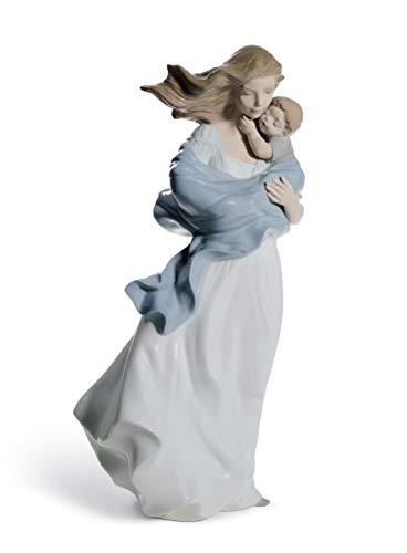 LLADRÓ Loving Touch Mother Figurine. Porcelain Mother Figure. GC1