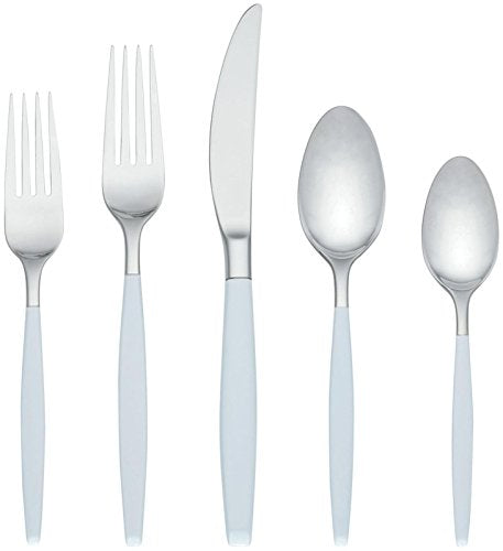 kate spade new york West 4th Street Flatware Set - White