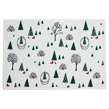 Kate Spade New York 4pc Holiday Village Placemats