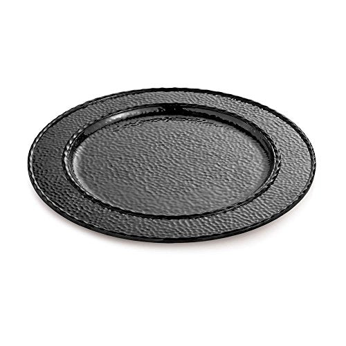 Michael Aram Hammertone Charger/Platter Black Nickelplate