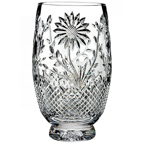 "Waterford House of Waterford Sunflower 10"" Vase"