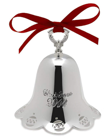 Towle Silversmiths 2014 Silver-Plated Pierced Bell, 35th Anniversary Edition