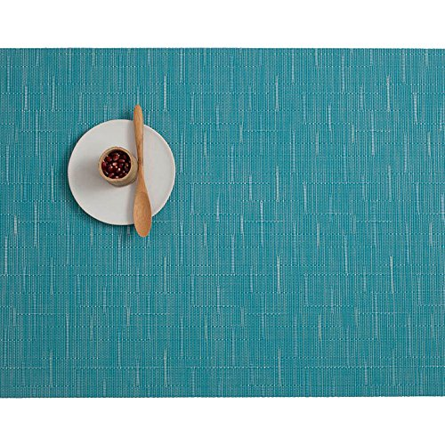 Chilewich Bamboo Rectangle Table Mat Teal (One Piece) GC2