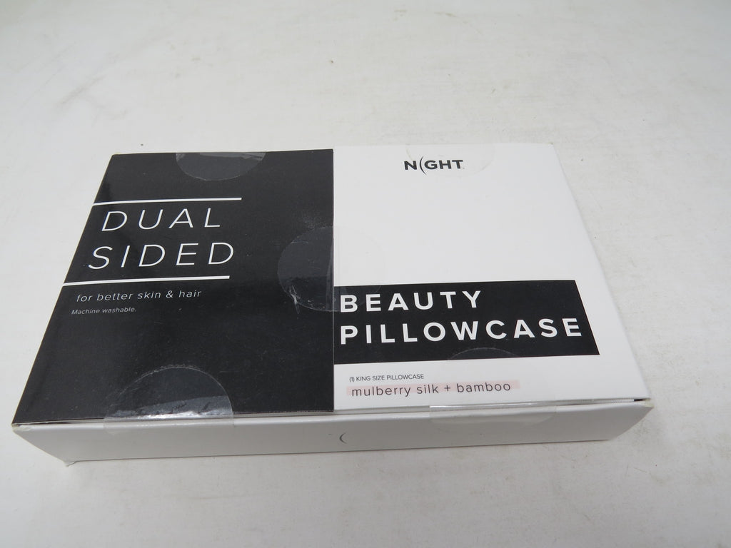 Dual Sided Night BEAUTY PILLOWCASE Mulberry Silk And Bamboo