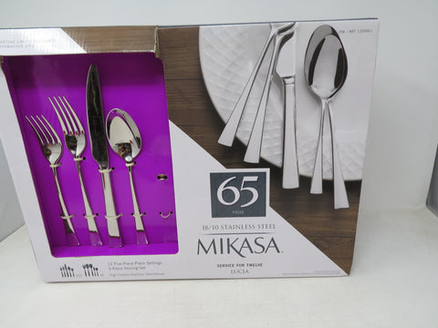 Mikasa Lucia 64 piece open box, missing pieces