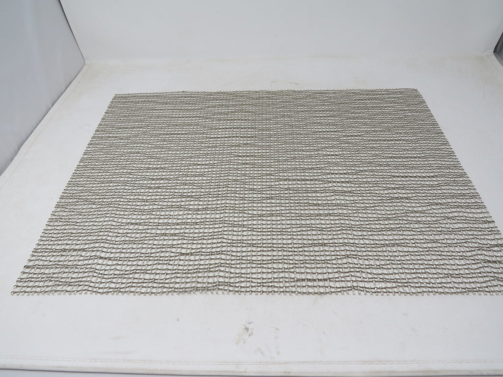 "Chilewich Lattice Placemat Silver Color Rectangle 14"" x 19"" Made in USA AP30"