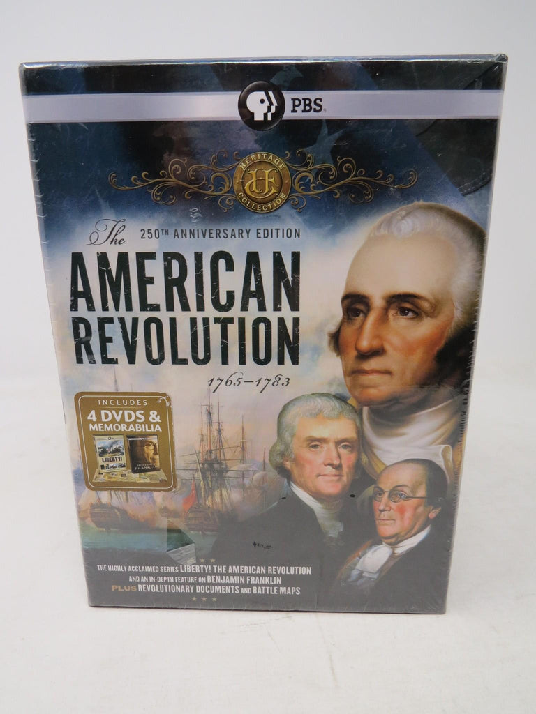 Heritage Collection The American Revolution 250th Anniversary 4 DVDs AP26B