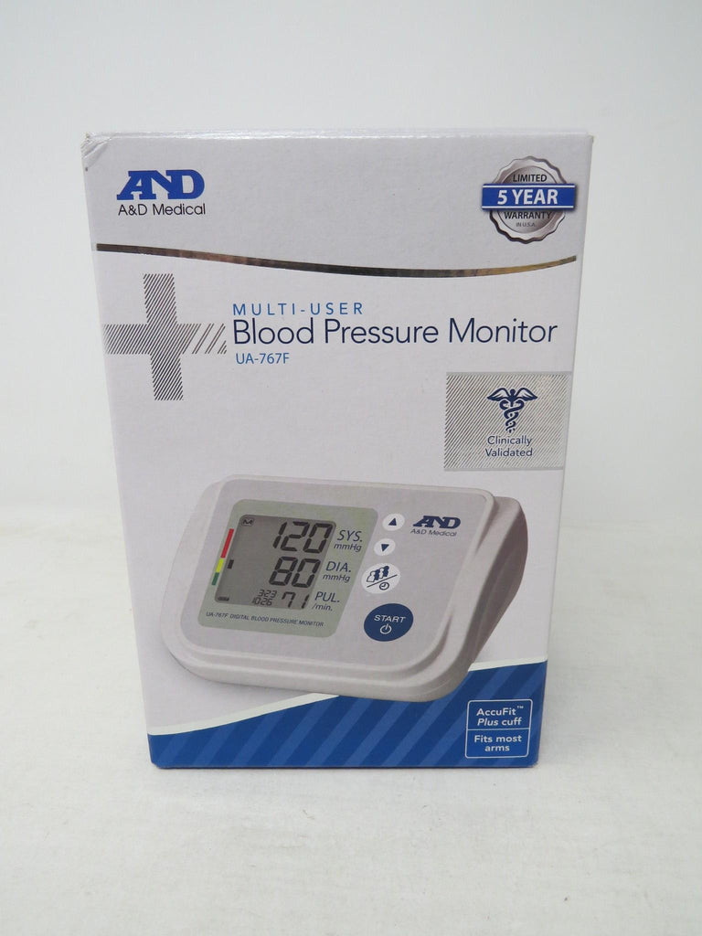 A&D Medical Upper Arm Blood Pressure Monitor for Up to 4 Users (UA-767F) AP7