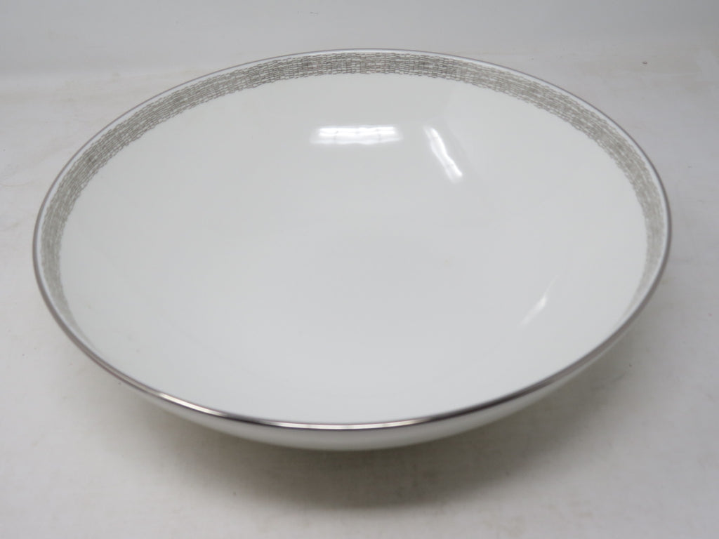 CALVIN KLEIN Antique Ribbon Serving Bowl AP14