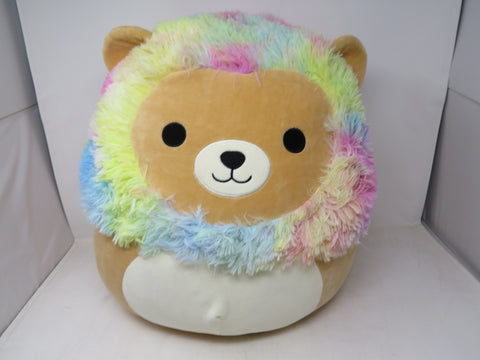 "Kellytoy Squishmallow Large 16"" Richard The colorful Plush Doll Pillow Toy AP38"