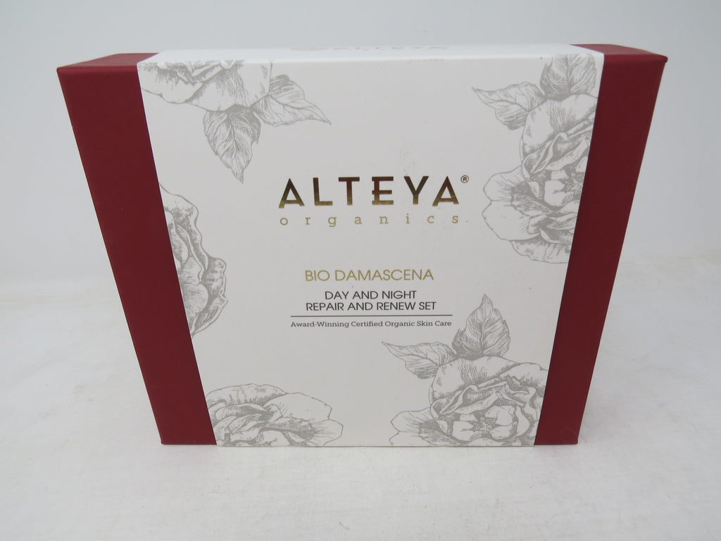 Alteya Organics Bio Damascena Day & Night Repair Set BRAND NEW AP7