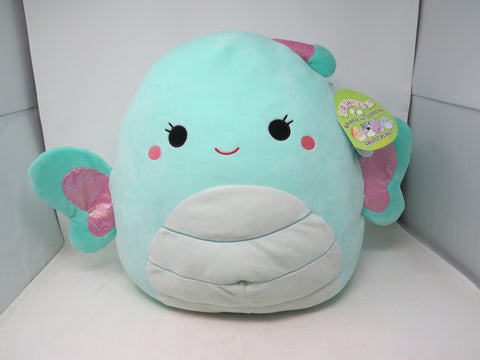 "Squishmallow 16"" Reina The Butterfly Stuffed Animal Super Pillow Soft Plush AP36"
