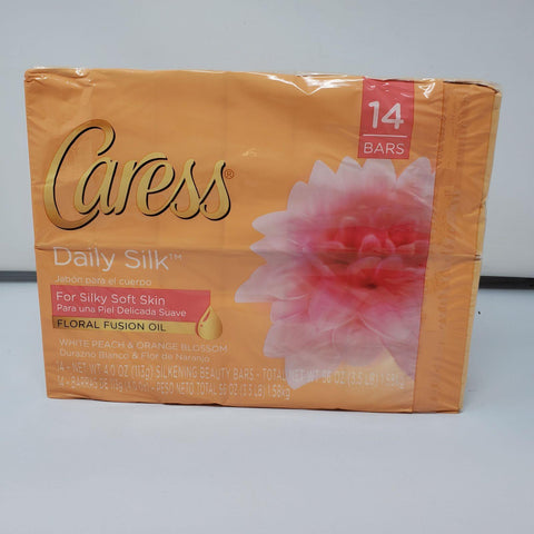 Caress 14 pack daily silk soap bars AP25