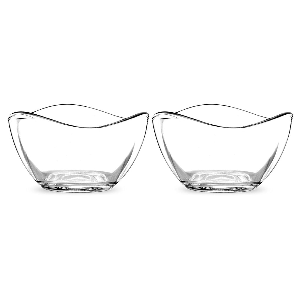"Portmeirion Ambiance Glass Bowl, Set of 2, 2.75"" Each B3C2"