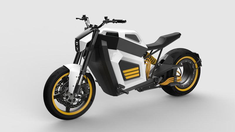 Finnish brand RMK electric motorcycle E2