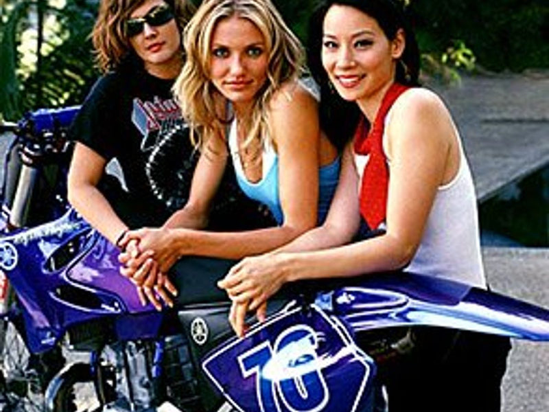 Charlie's Angels Full Throttle Motorcycle Scene
