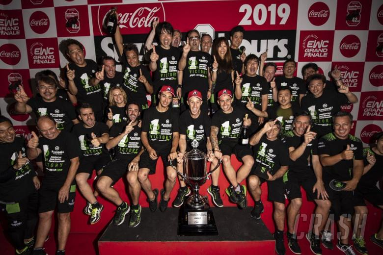 Suzuki 8 Hours 2019 winner Kawasaki Racing Team
