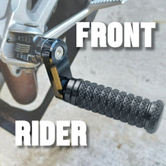 Rider Front Foot Pegs