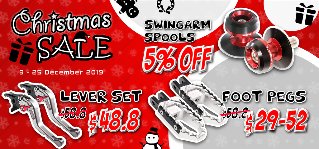 MC Motoparts 2019 End of Year Christmas Sale