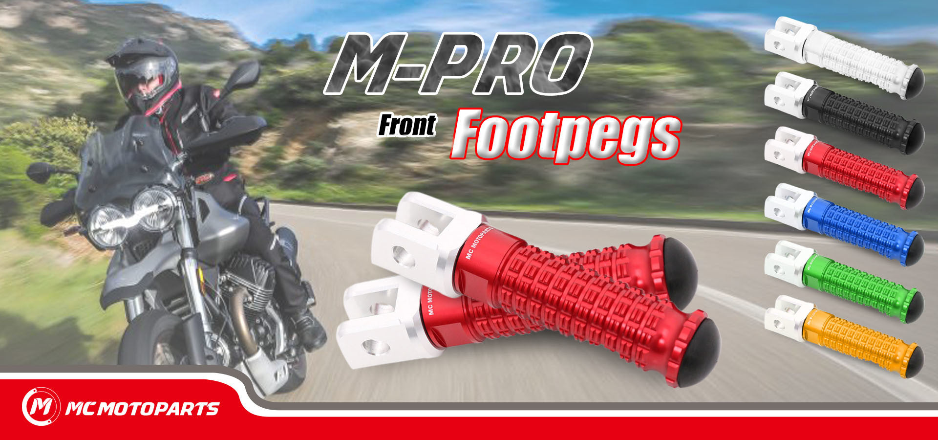 CNC M-PRO Front Foot Pegs