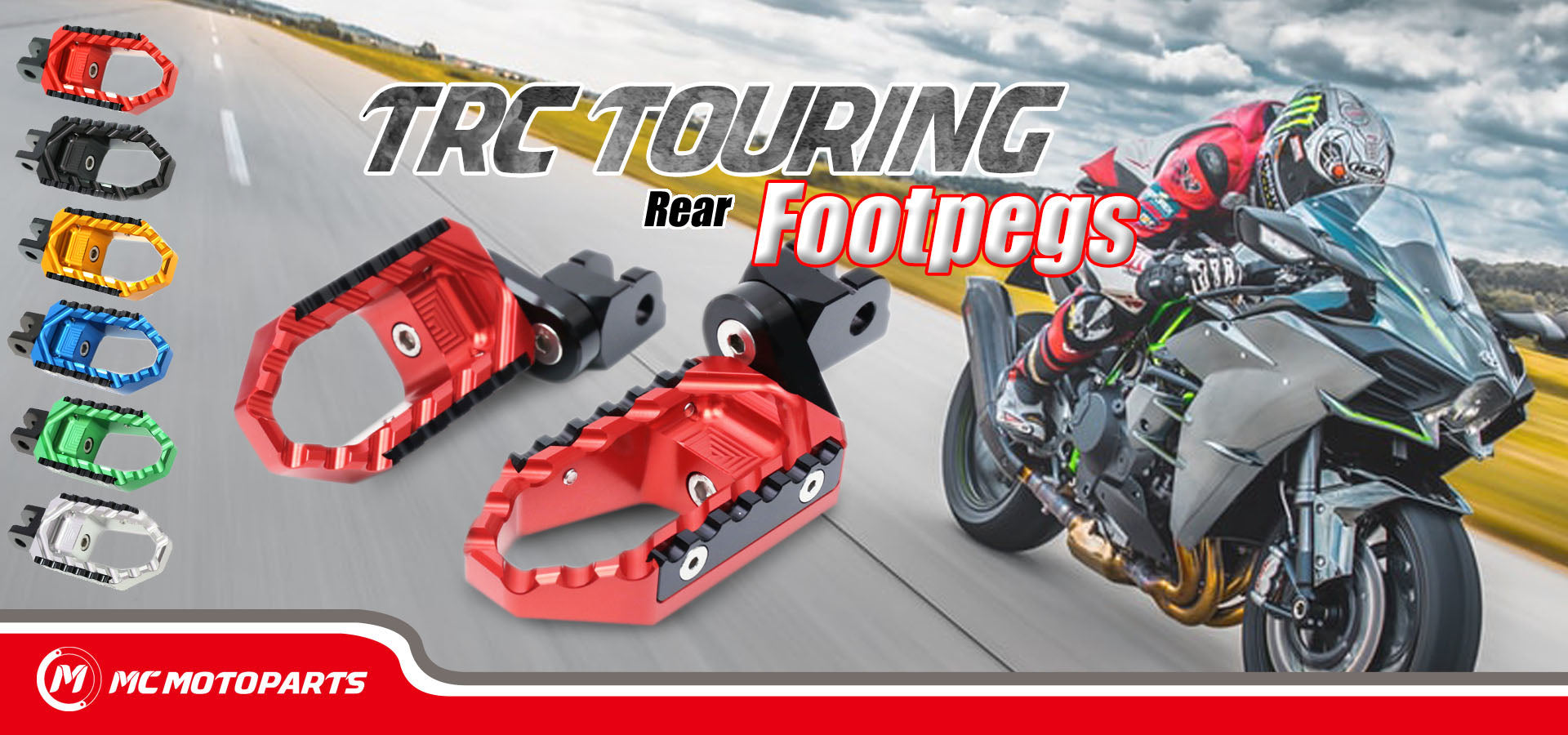 TRC Touring Rear Foot Pegs