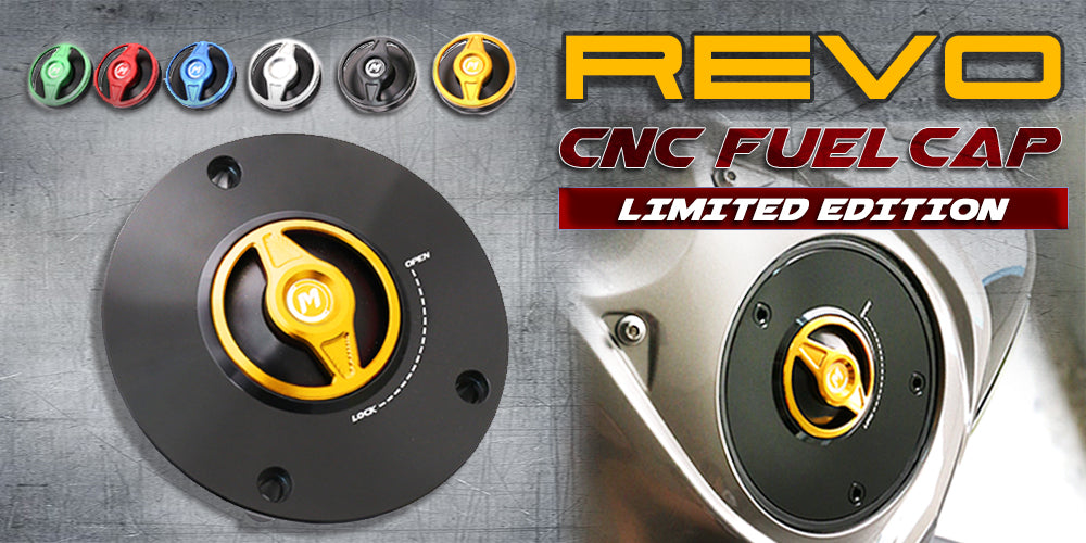 CNC REVO Fuel Cap for motorcycles