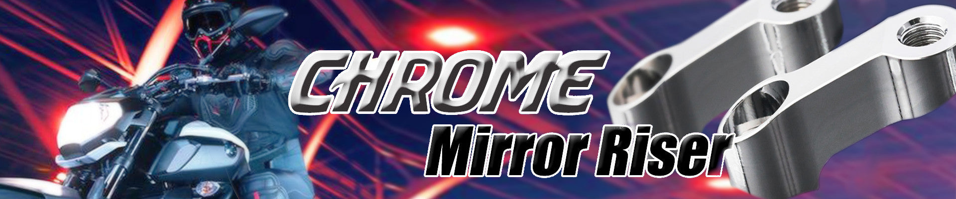 Chrome Mirror Extender