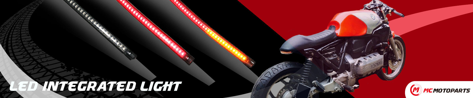 MC Motoparts Front Running & Tail Brake 2-in-1 Turn Signal Light Strips