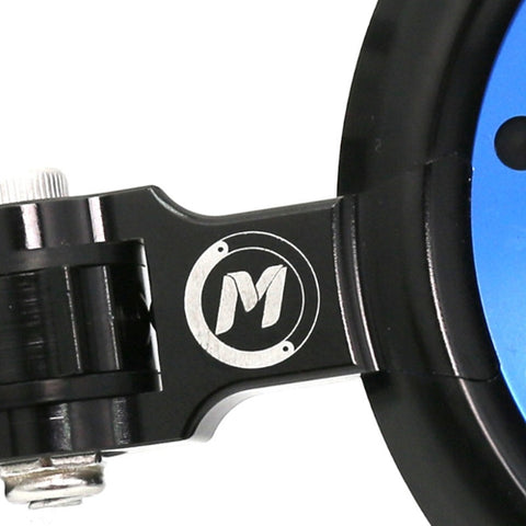 MC Motoparts designed REACTOR bar end mirrors