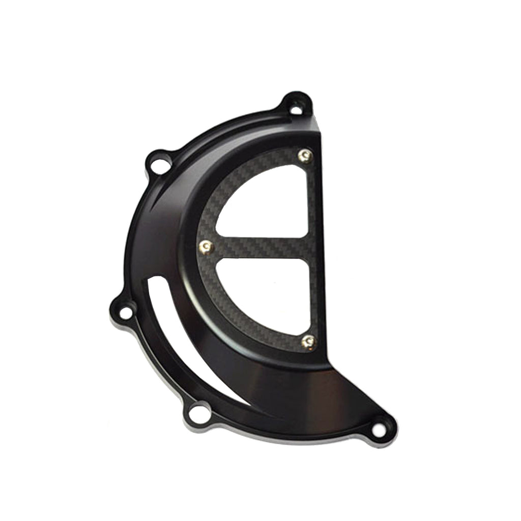 Fits Ducati Streetfighter SuperSport CNC Black Protection Clutch Cover CC02 - MC Motoparts
