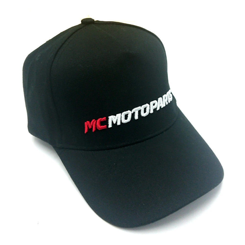 MC Motoparts Black Baseball Cap / Hat For Men Women - MC Motoparts