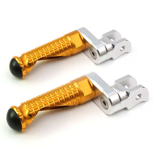 Fit Kawasaki Z1000 Z125 Pro Z750 Z900 MPRO 25mm Extension Front Foot Pegs - MC Motoparts