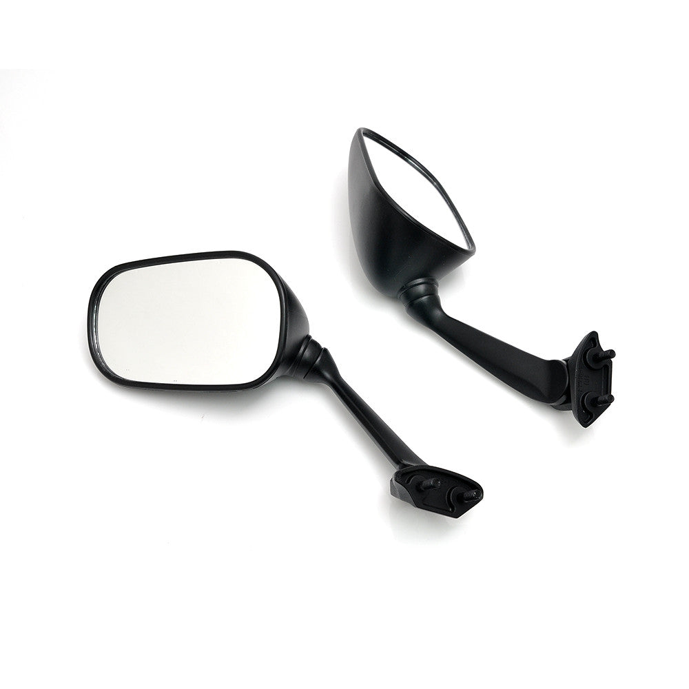Fit Yamaha YZF R6 2008-2016 Black eMark Aftermarket Rear View Mirrors - MC Motoparts