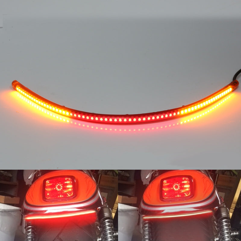 36cm AMP-Z Rear LED Turn Signal Brake Light Strip - MC Motoparts